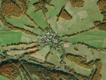 radial village